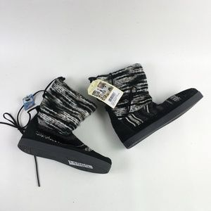 Toms Black Suede Nepal Boot H6514865
